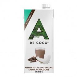 Bebida de coco con chocolate 1 litro Marca A de coco