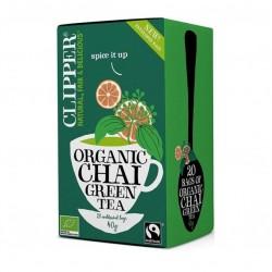 Green tea chai 20 bags Marca Clipper