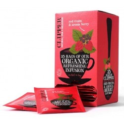 INFUSION - RED FRUITS & ARONIA BERRY - 25 ENVELOPES